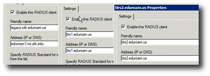 eduroam.us radius clients